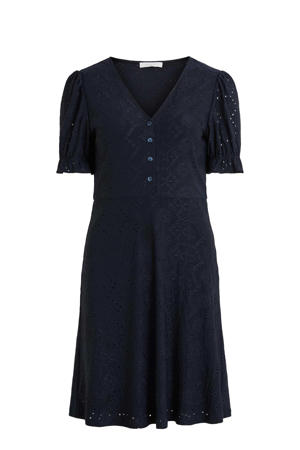 jurk VITAMMA  met kant zwart
