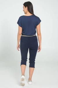 Cassis regular fit joggingbroek marine, Marine