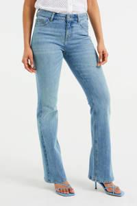 WE Fashion Blue Ridge flared jeans vintage light blue, Vintage Light Blue