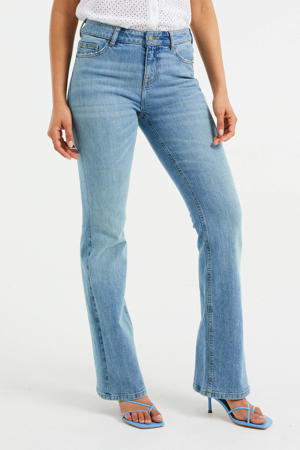 flared jeans vintage light blue