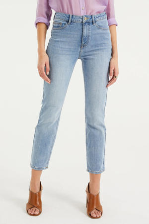 high waist slim fit jeans Blue Ridge light blue denim