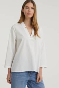 SELECTED FEMME blouse van biologisch katoen wit, Wit
