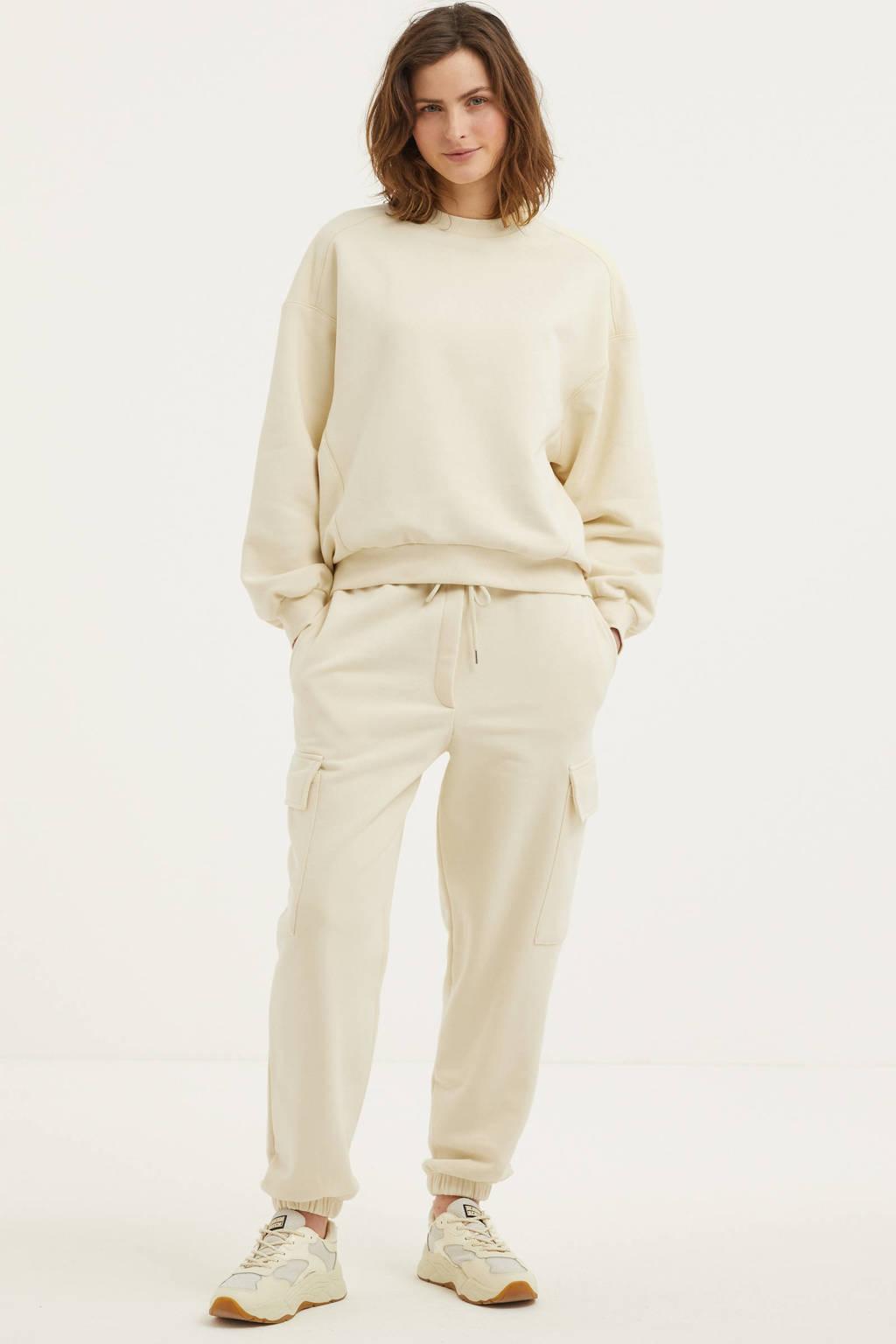 EDITED sweater Lana met biologisch katoen beige, Beige