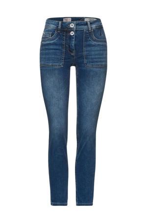 slim fit jeans  mid blue denim