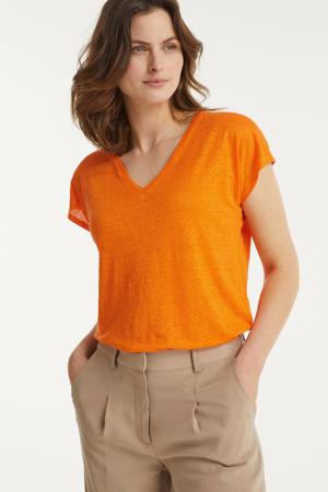 T-shirt Faylinn oranje