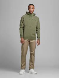 JACK & JONES CORE hoodie Ponn groen melange, Groen melange
