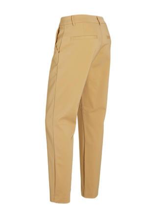 straight fit pantalon Janika bruin