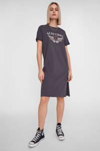 NOISY MAY T-shirtjurk van biologisch katoen grijs, Grijs