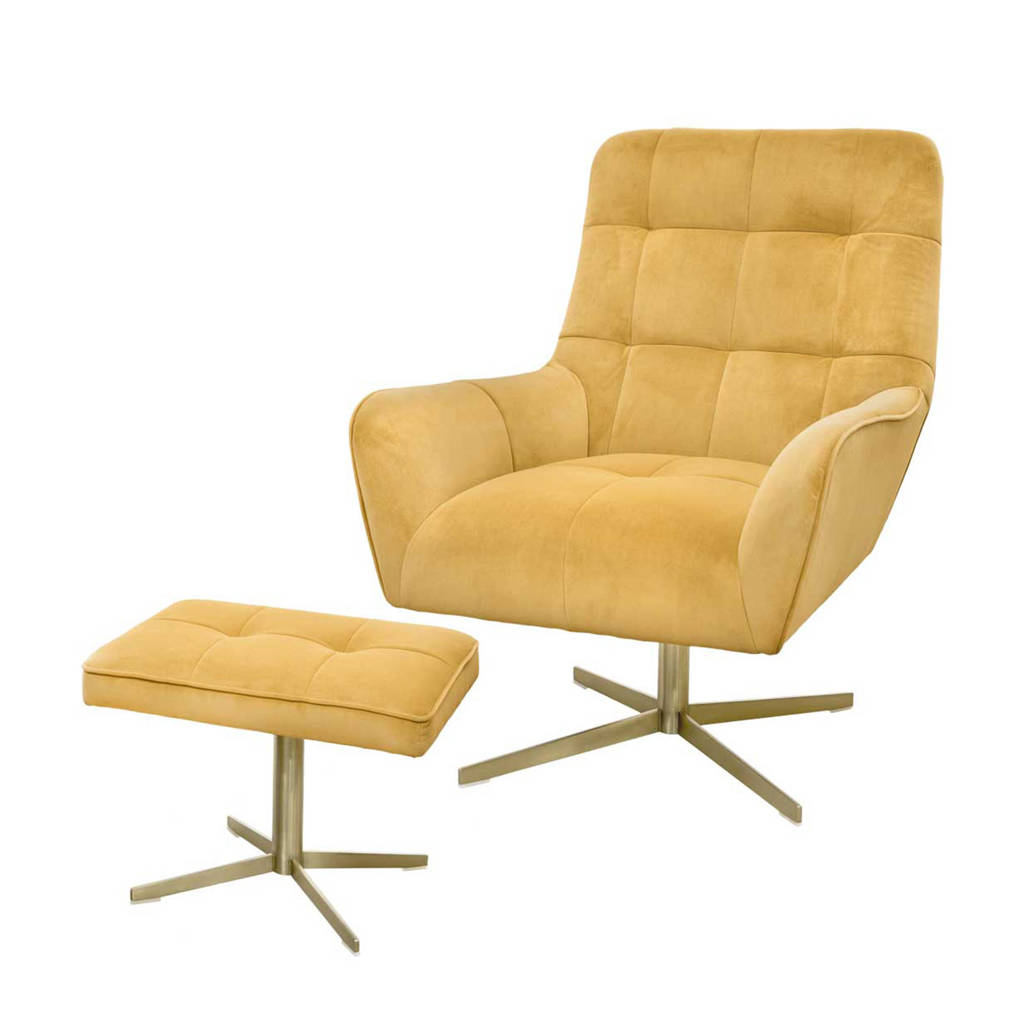 Riverdale fauteuil Maylin, Goud
