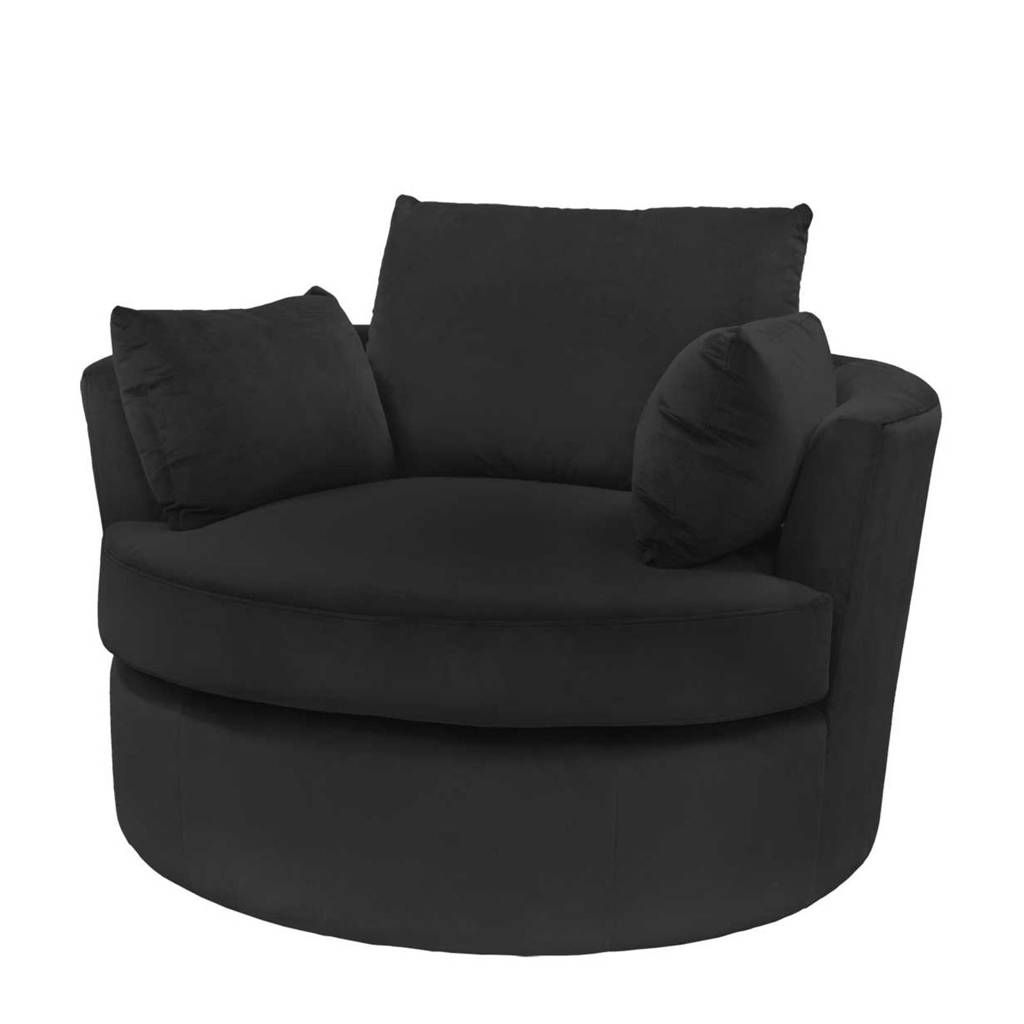 Riverdale fauteuil Phoebe, Zwart