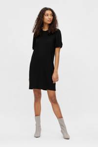 OBJECT T-shirtjurk OBJJAMIE zwart, Zwart
