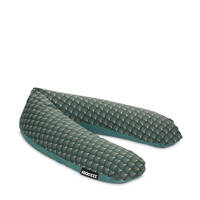 Snoozzz voedingskussen L - Ginza Green -185 cm, Petrol