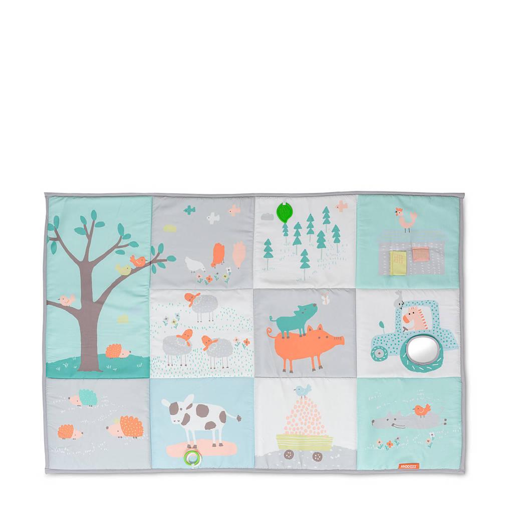 Snoozzz speelkleed Boerderij - 150 x 100 cm, Multi