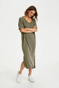 Saint Tropez jurk Abbie kaki, Kaki