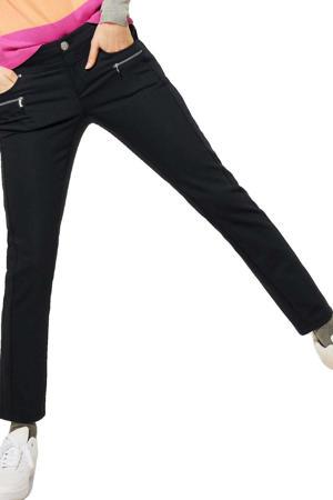 slim fit broek Yulius donkerblauw