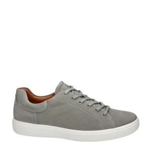 Soft 7  nubuck veterschoenen grijs