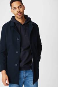 C&A Angelo Litrico hoodie donkerblauw, Donkerblauw/Beige