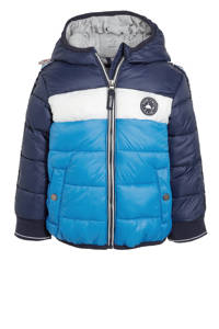 C&A Here & There  winterjas donkerblauw/blauw/wit, Donkerblauw/blauw/wit