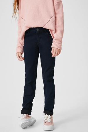skinny jeans nachtblauw
