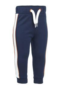 C&A Palomino joggingbroek met zijstreep donkerblauw/wit, Donkerblauw/wit