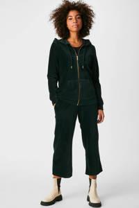 C&A XL Yessica vest met textuur scarab, Scarab
