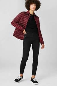 C&A XL Yessica skinny broek zwart, Zwart
