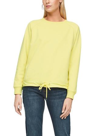 sweater lichtgeel