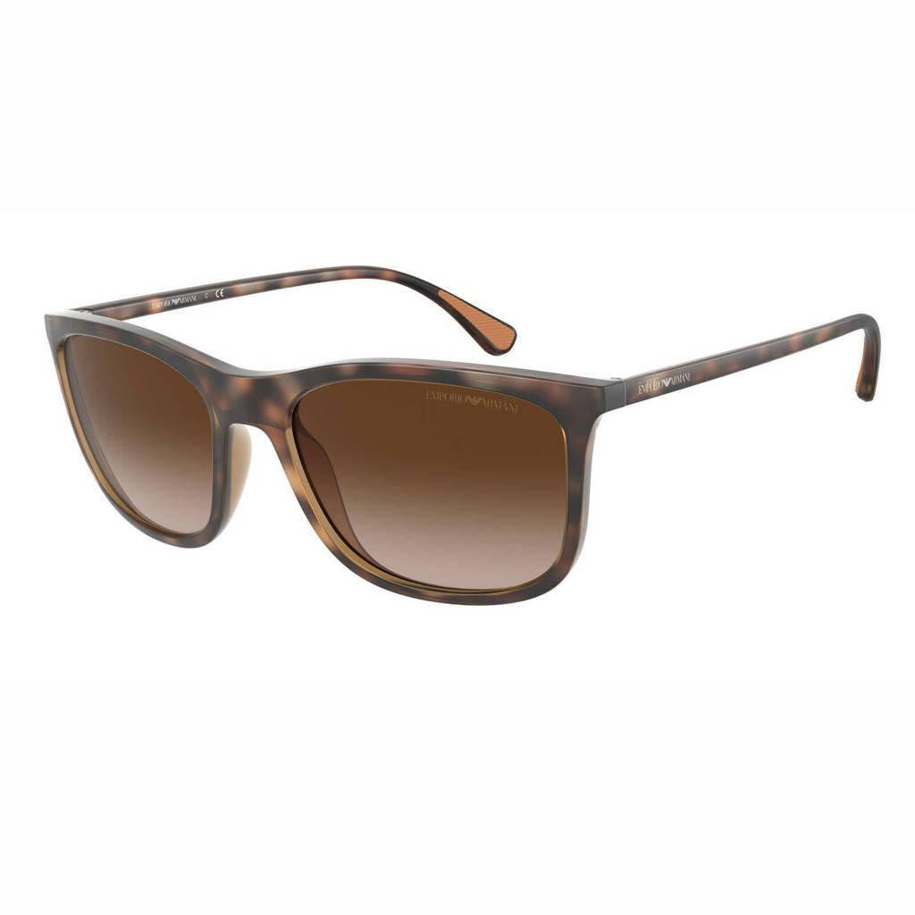 Emporio Armani zonnebril 0EA4155 bruin