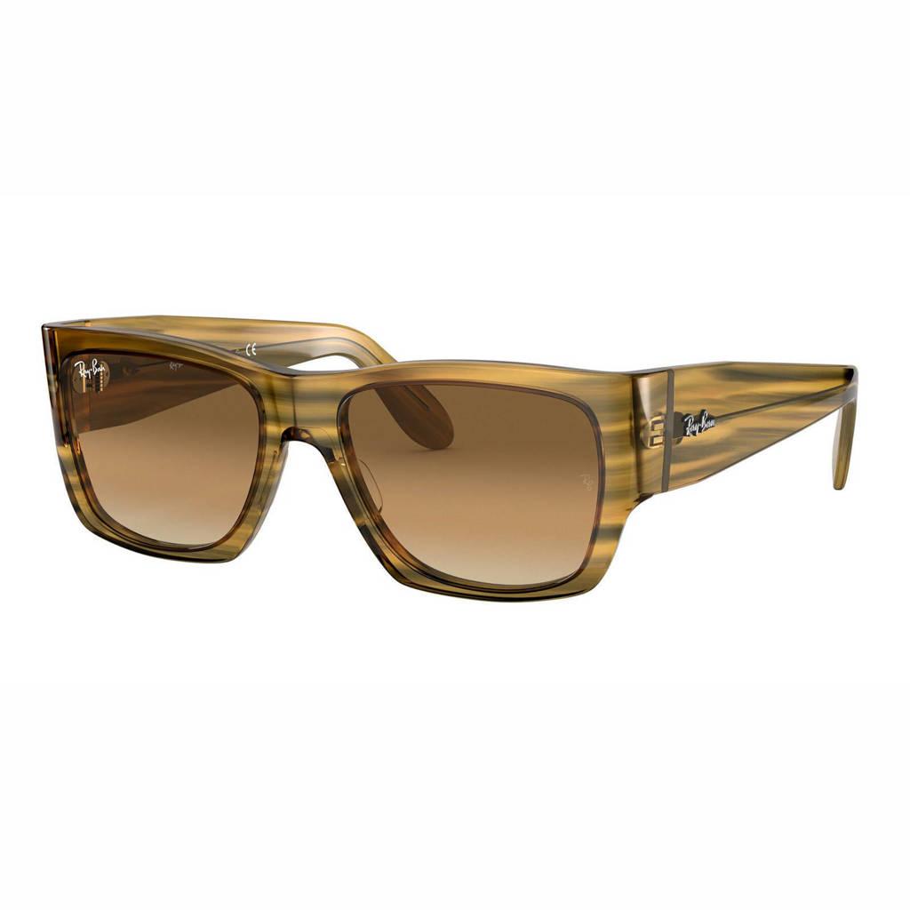 Ray-Ban zonnebril Wayfarer Nomad 0RB2187 geel