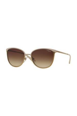 zonnebril 0VO4002S goudkleurig