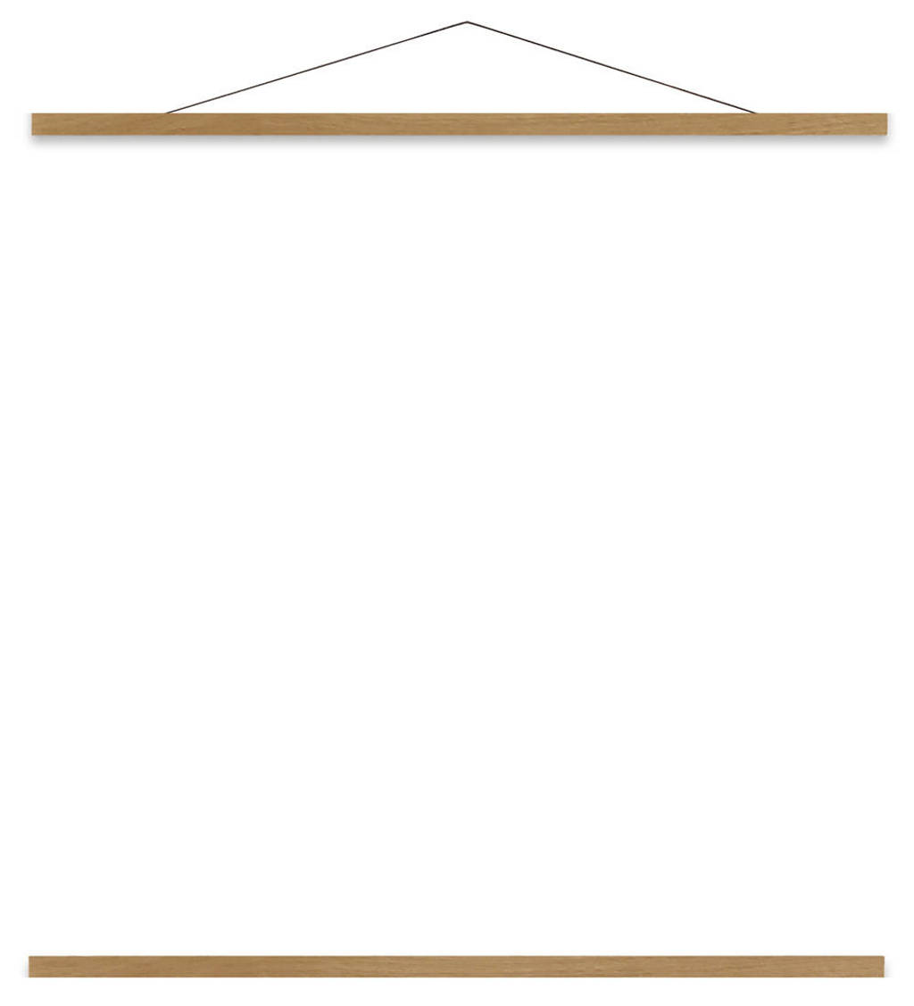 The Dybdahl Co poster hanger  (31 cm), Eiken