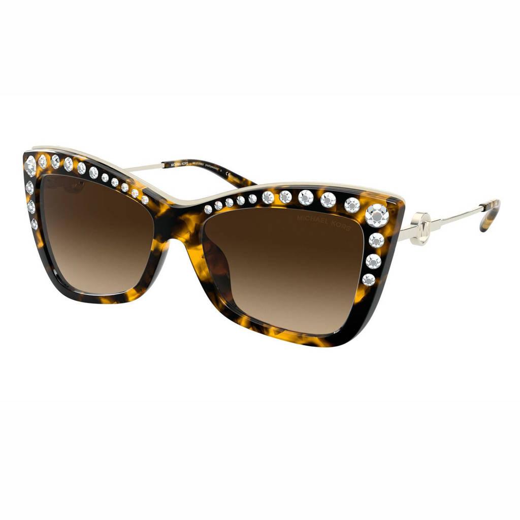 Michael Kors zonnebril Hollywood 0MK2128BU bruin