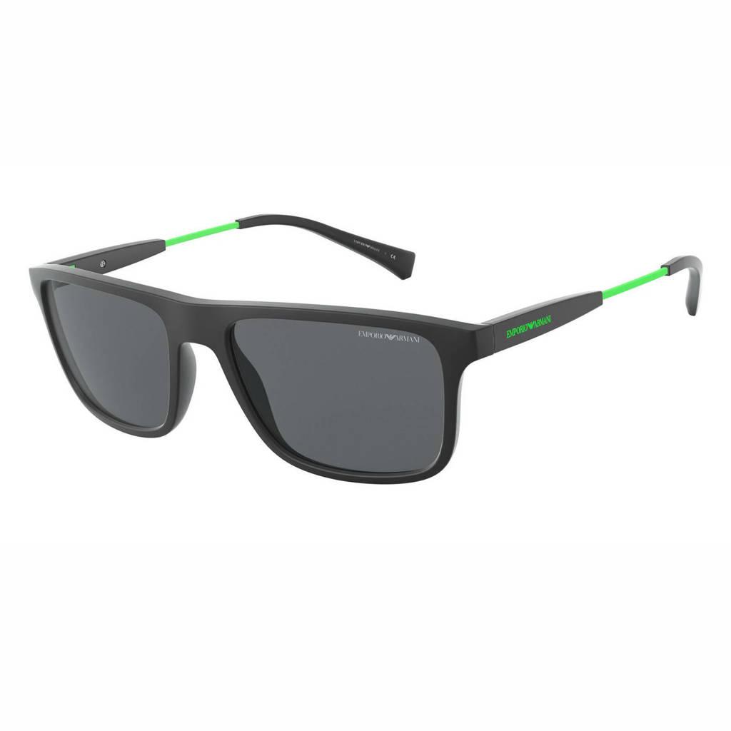 Emporio Armani zonnebril 0EA4151 mat zwart
