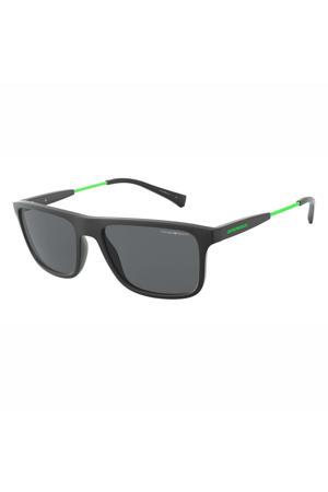 zonnebril 0EA4151 mat zwart