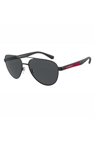 zonnebril 0EA2105 mat zwart