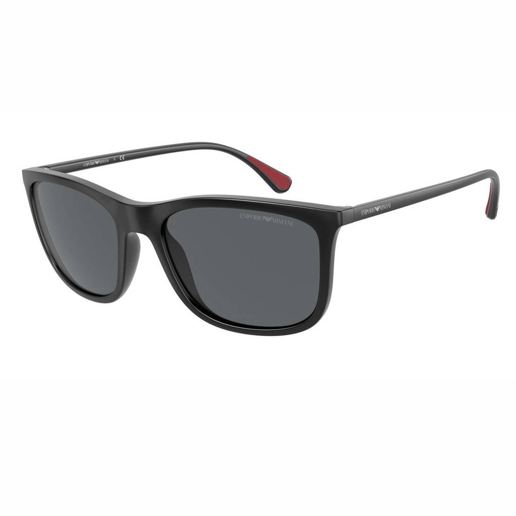 Emporio Armani zonnebril 0EA4155 mat zwart