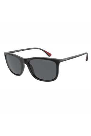 zonnebril 0EA4155 mat zwart