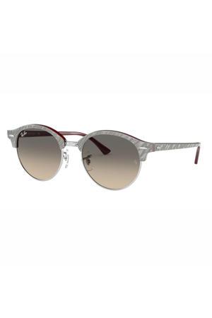 zonnebril Clubround 0RB4246 grijs/bordeauxrood