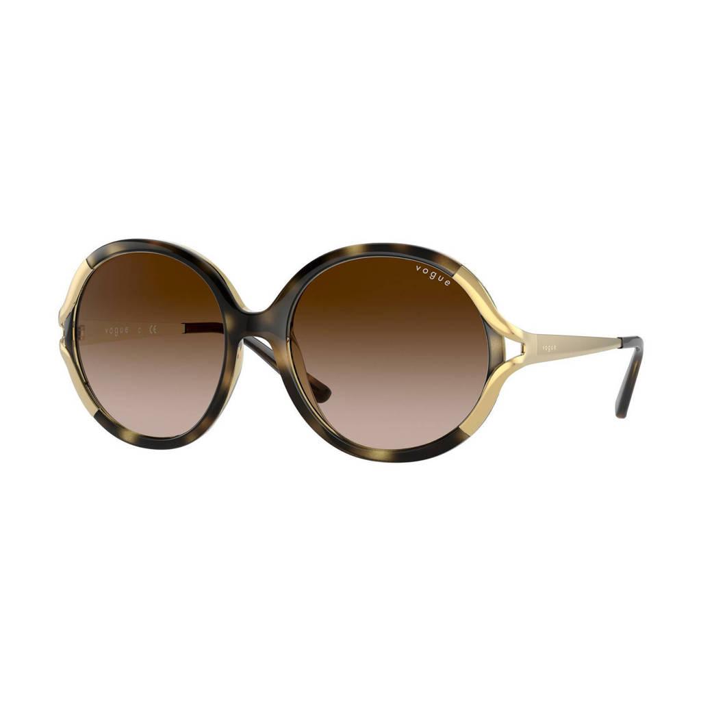 Vogue zonnebril 0VO5354S donkerbruin