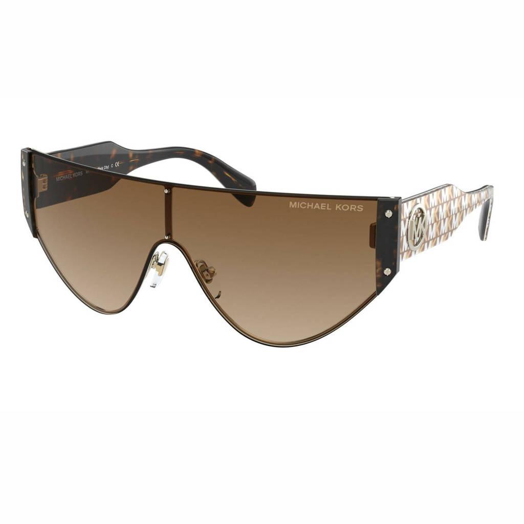 Michael Kors zonnebril Park City 0MK1080 goudkleurig
