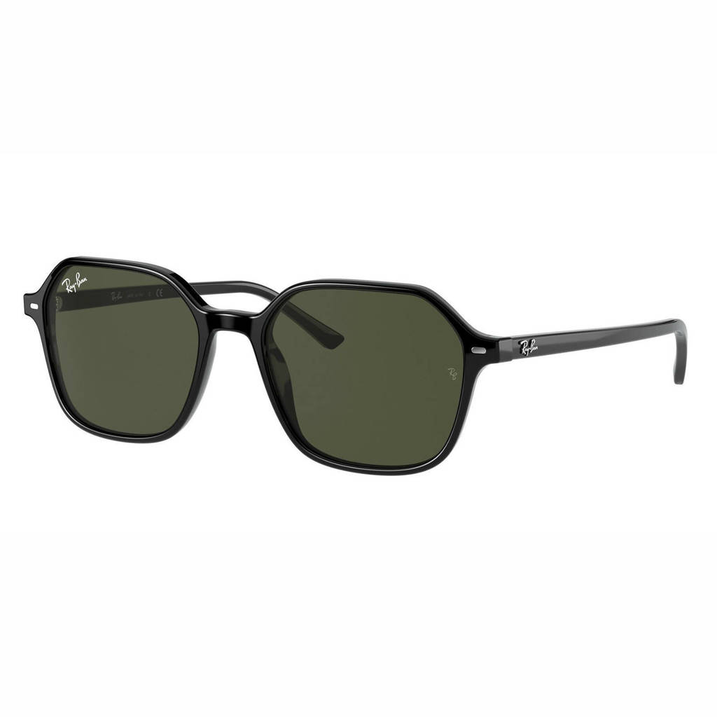 Ray-Ban zonnebril John 0RB2194 zwart