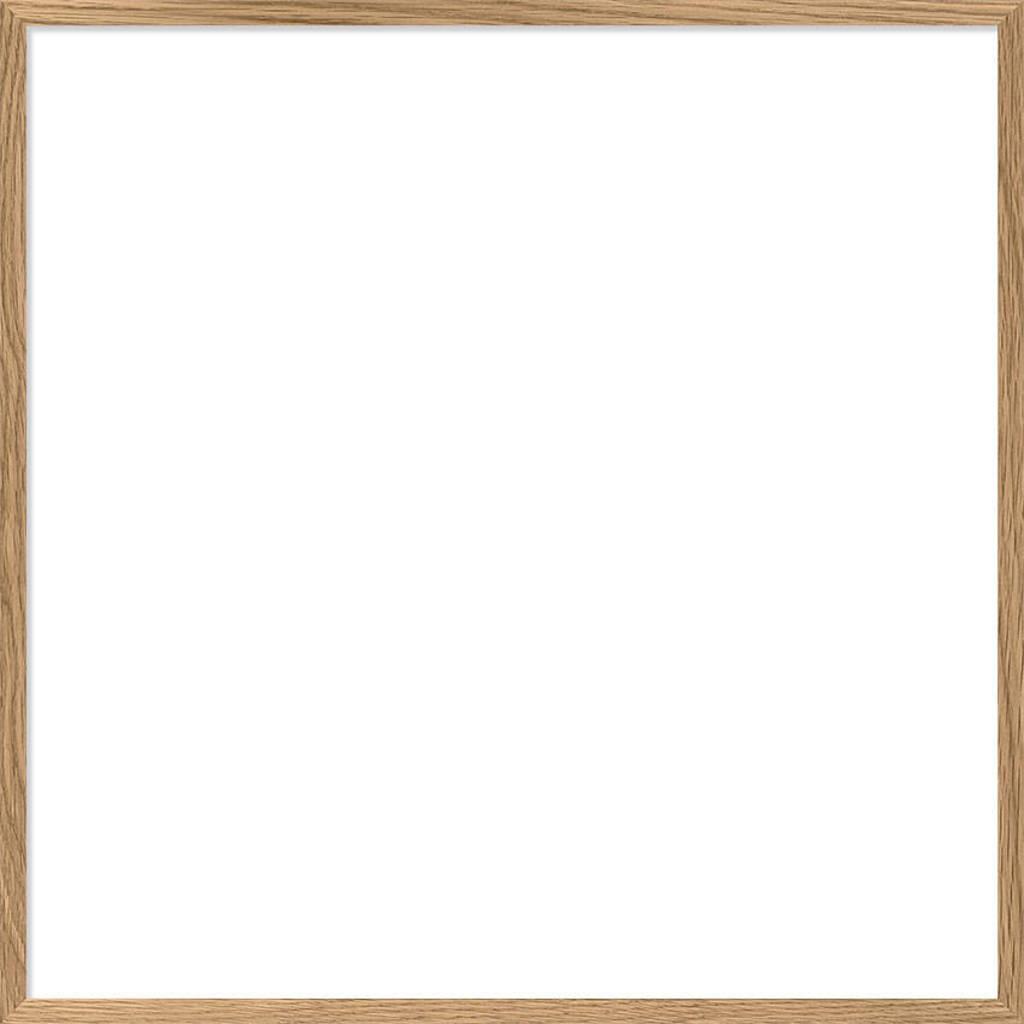 The Dybdahl Co lijst  (30x30 cm), Eiken