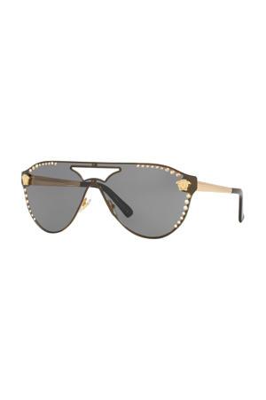 zonnebril 0VE2161B goudkleurig