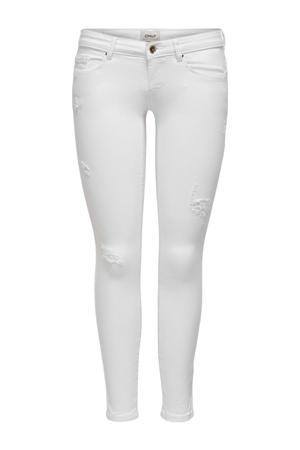 extra low waist skinny jeans ONLCORAL wit