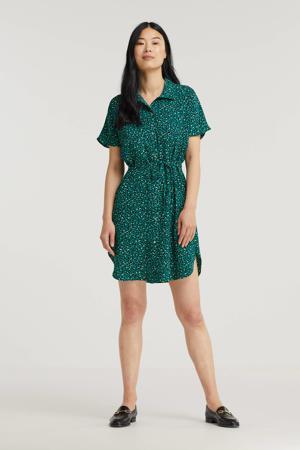 jurk ONLNOVA met all over print groen