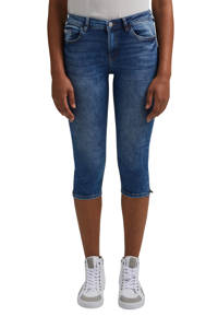 edc Women skinny capri met biologisch katoen medium blue, Medium blue