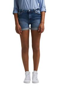 edc Women jeans short dark denim, Dark denim
