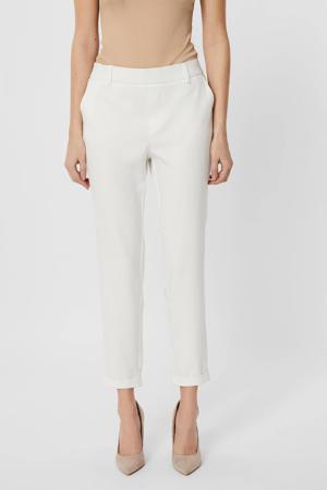 slim fit pantalon VMMAYA wit