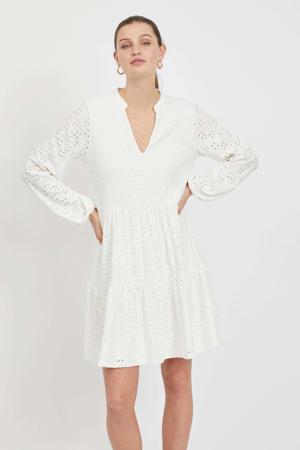 A-lijn jurk VIKAWA met volant wit