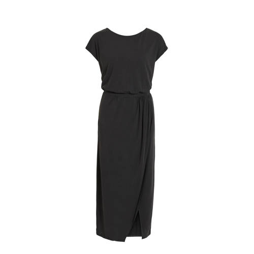 VILA maxi jurk VIMODALA zwart